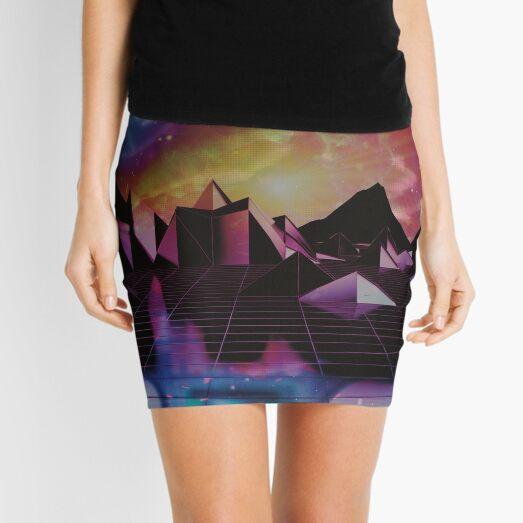 Synthwave adventures Mini Skirt