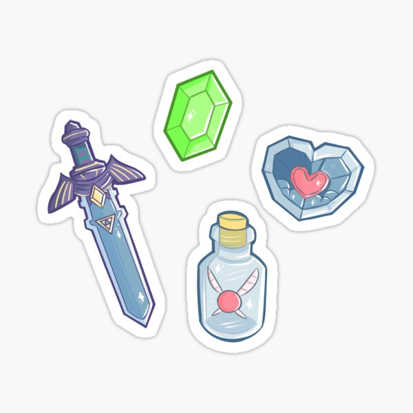 Gaming Items Stickers Sticker