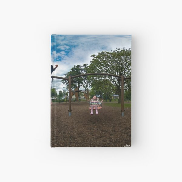 3  Kids on a Swing Hardcover Journal