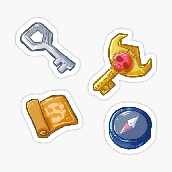 RPG Dungeon Items Stickers Sticker