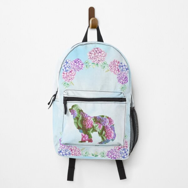 Newfie Hydrangea Design Backpack
