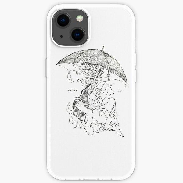 forever rain - mono  iPhone Soft Case