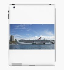 Liner in town iPad Case/Skin
