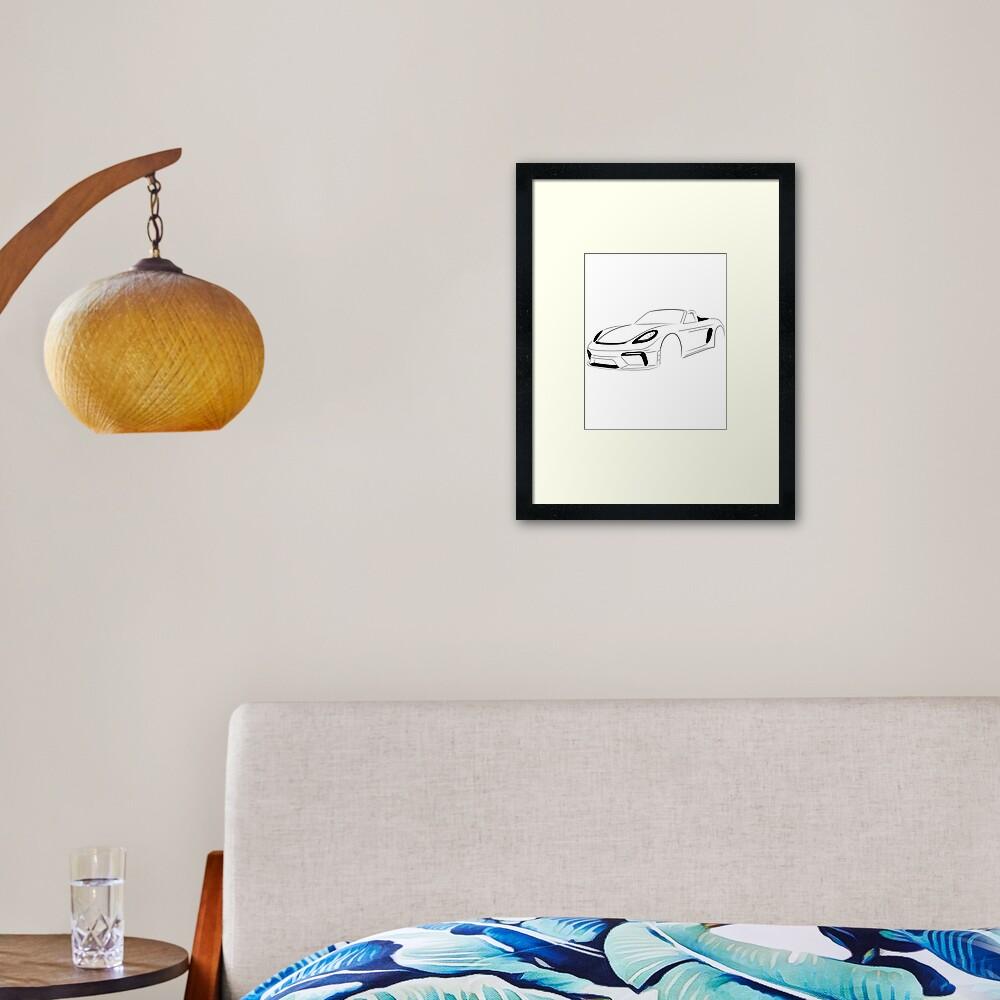 SPYDER Series Two Framed Art Print