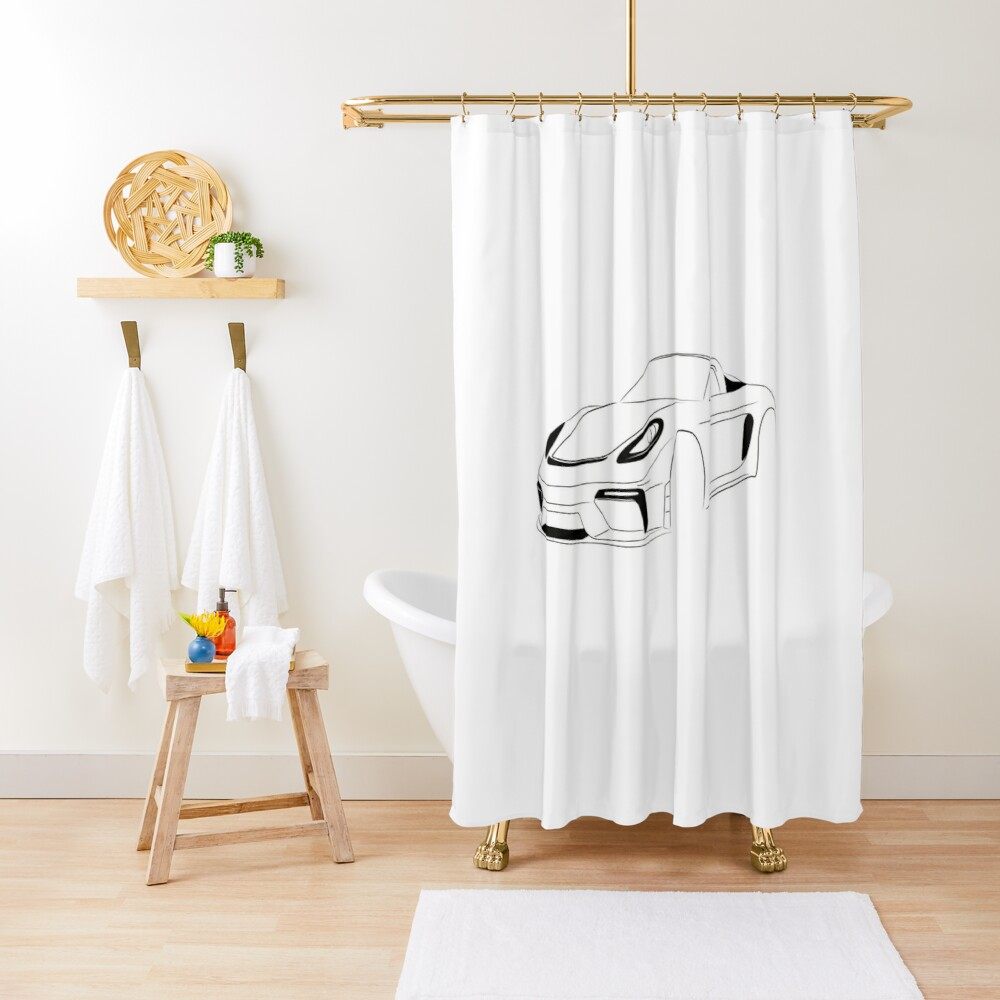 SPYDER Series Two Shower Curtain