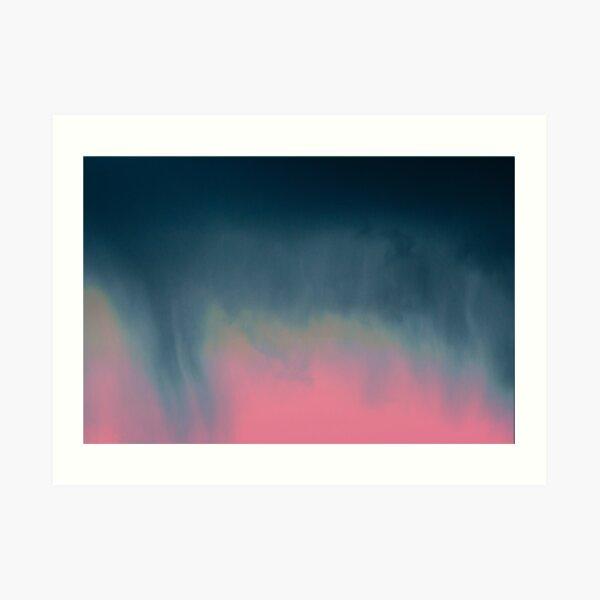 Vibrant Clouds  Art Print
