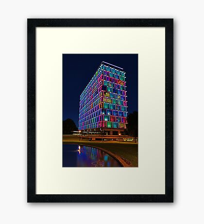 Perth Council House  Framed Print