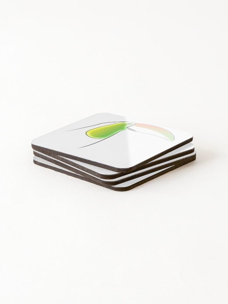 Alternate view of PuraVida Toucan Series Coasters (Set of 4)