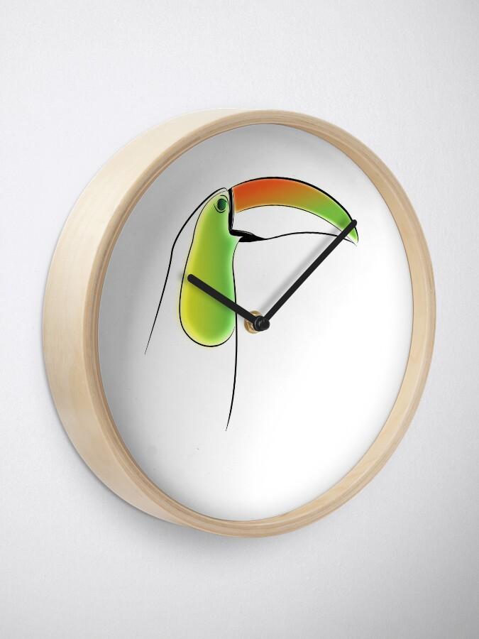 Alternate view of PuraVida Toucan Series Clock
