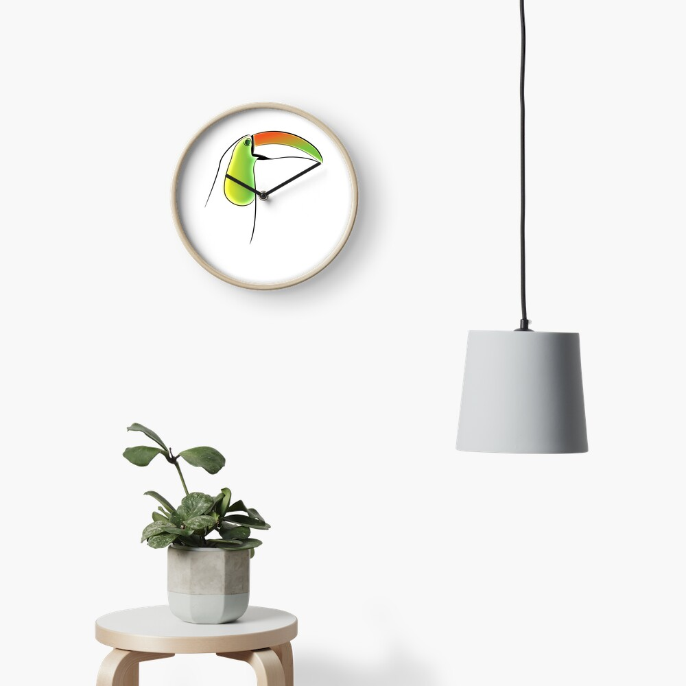 PuraVida Toucan Series Clock
