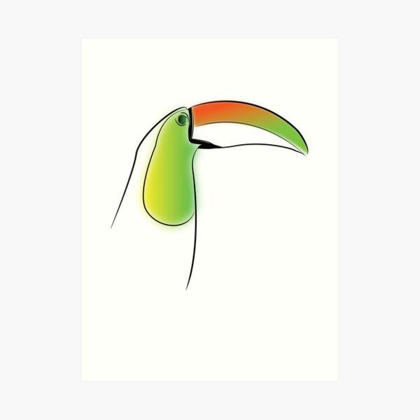 PuraVida Toucan Series Art Print