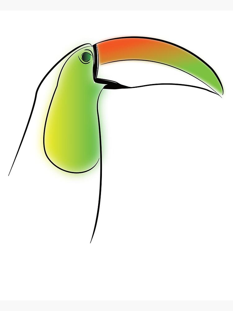 PuraVida Toucan Series by ThinkinClothing
