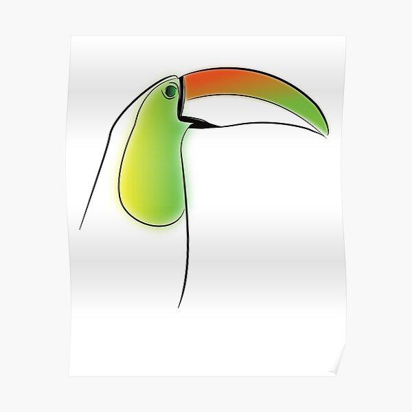 PuraVida Toucan Series Poster