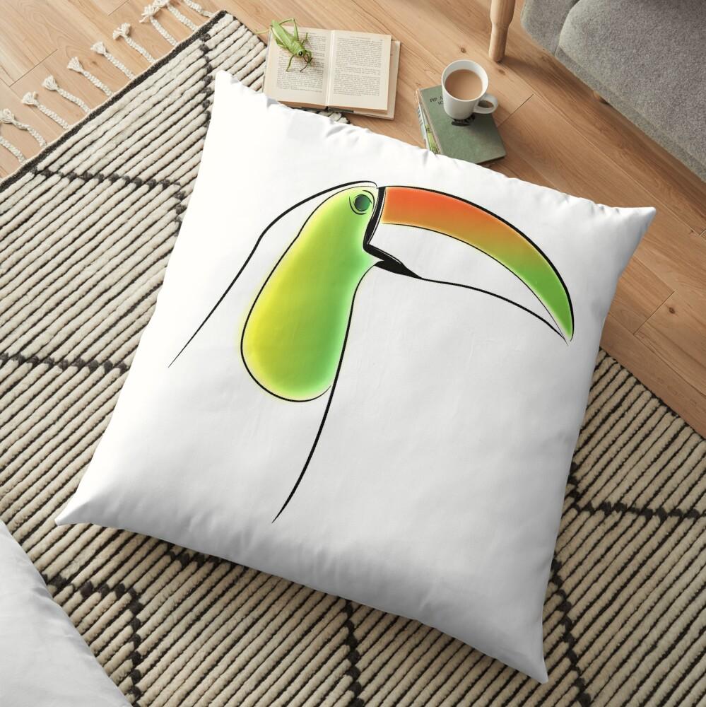 PuraVida Toucan Series Floor Pillow