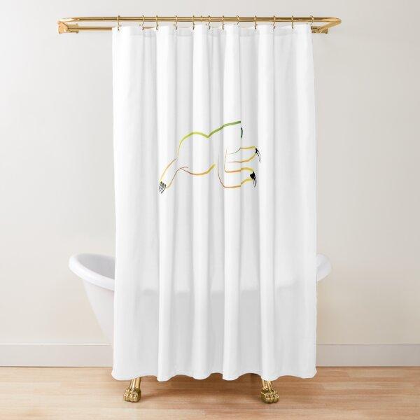 PuraVida Sloth Series Shower Curtain