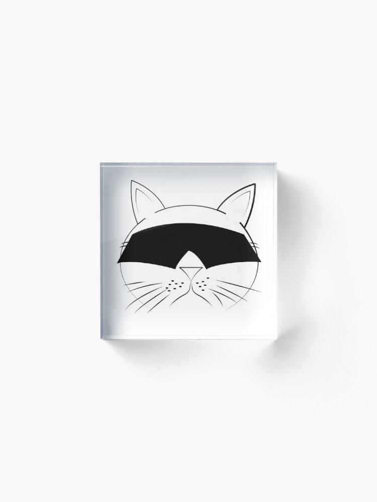 Alternate view of COOL Cat Series Acrylic Block