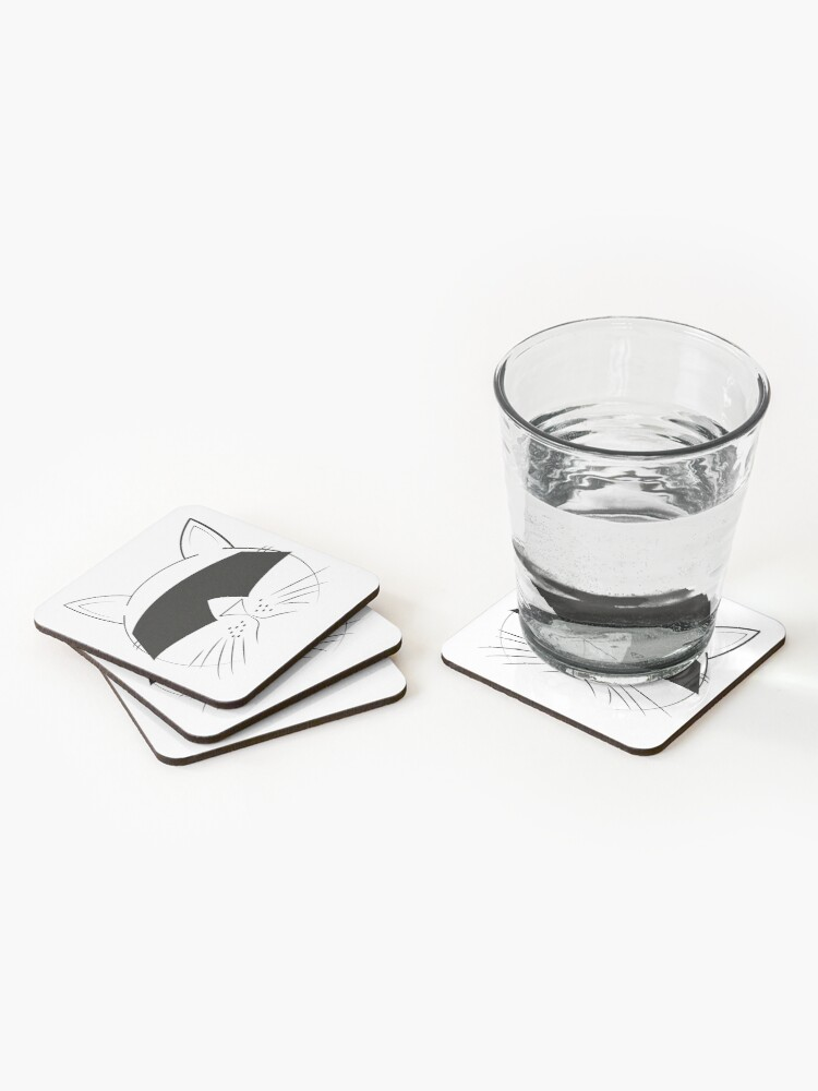 Alternate view of COOL Cat Series Coasters (Set of 4)