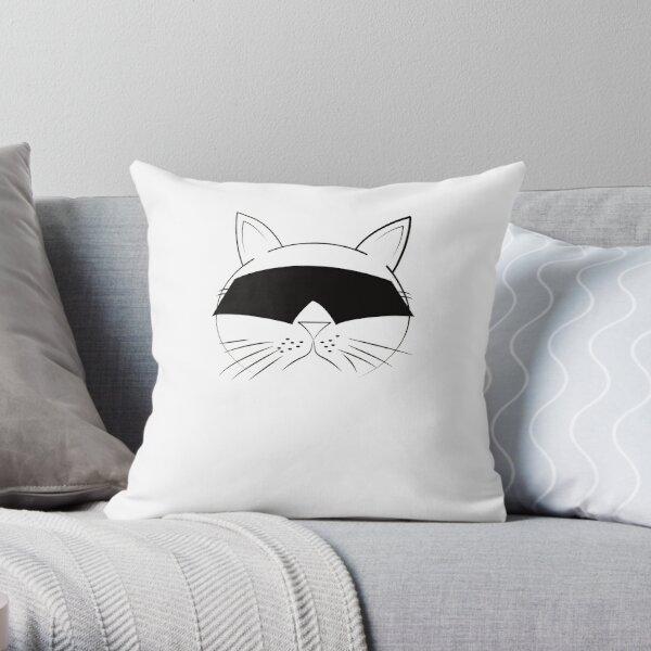 COOL Cat Series Throw Pillow