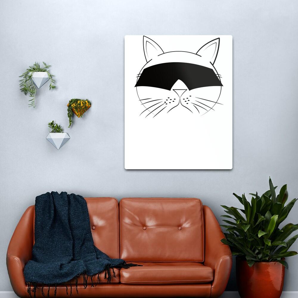 COOL Cat Series Metal Print