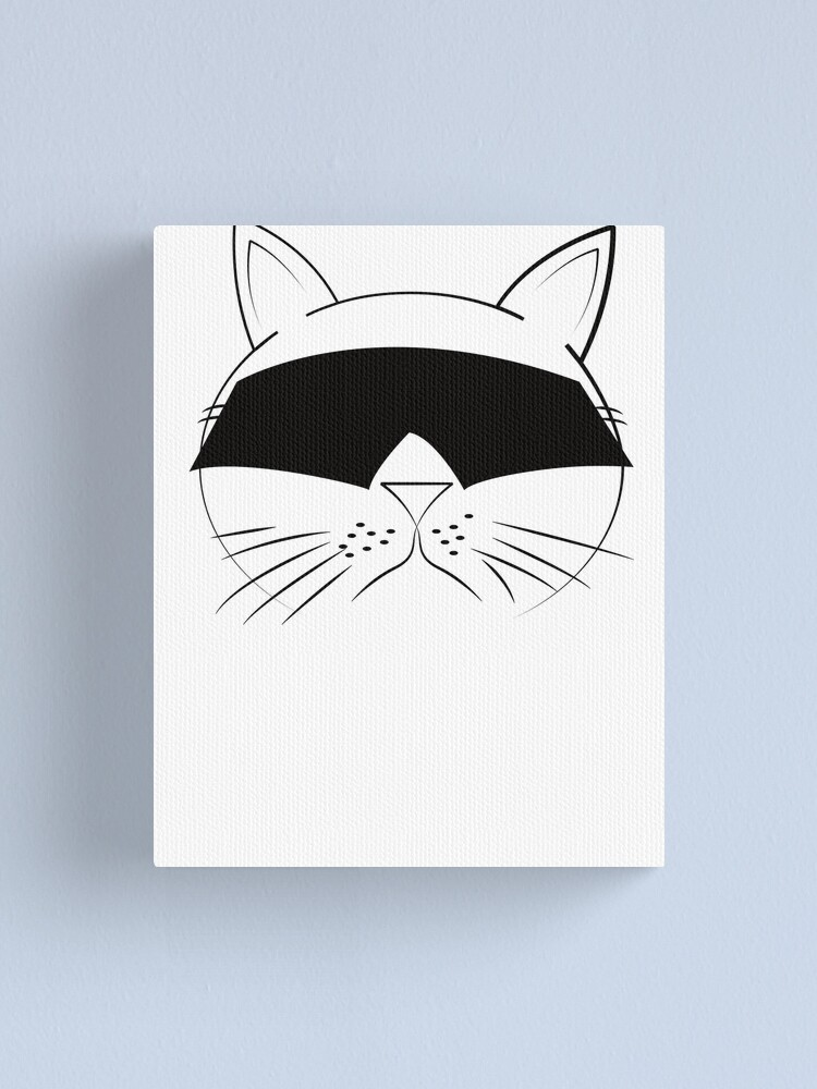 Alternate view of COOL Cat Series Canvas Print