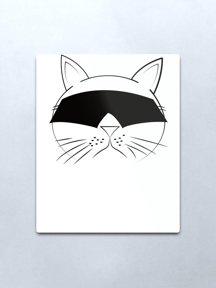 Alternate view of COOL Cat Series Metal Print