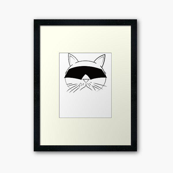 COOL Cat Series Framed Art Print