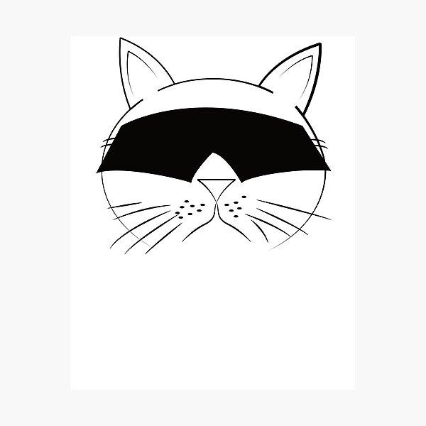 COOL Cat Series Photographic Print