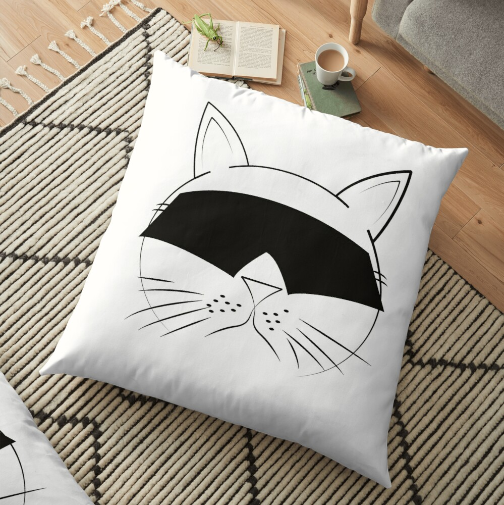 COOL Cat Series Floor Pillow