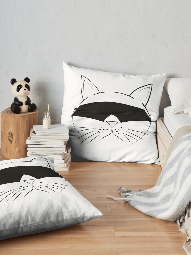 Alternate view of COOL Cat Series Floor Pillow