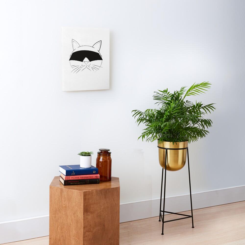 COOL Cat Series Mounted Print