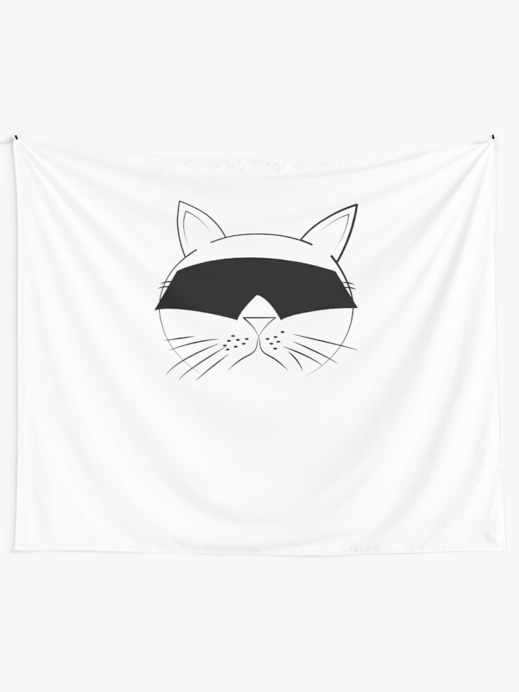 Alternate view of COOL Cat Series Tapestry