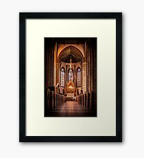St Chads Catholic Cathedral, Birmingham  Framed Print