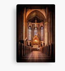 St Chads Catholic Cathedral, Birmingham  Canvas Print