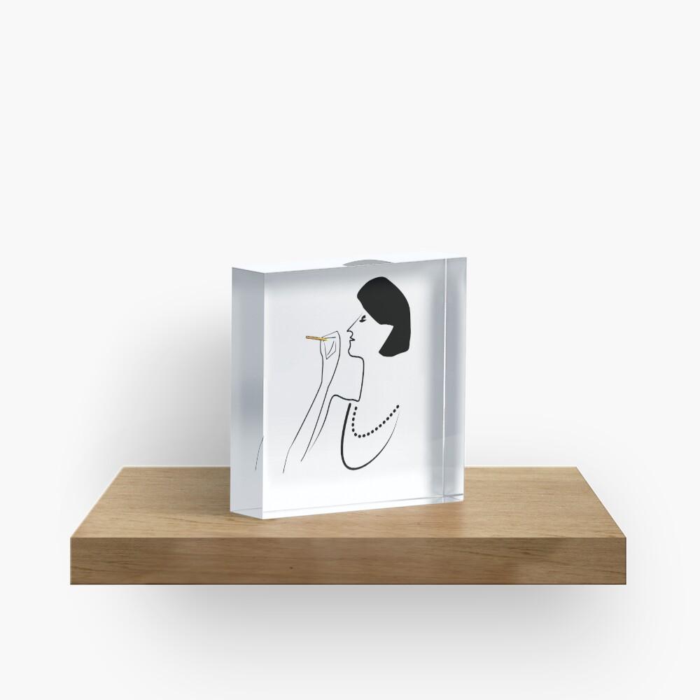 So CLASSY! Acrylic Block