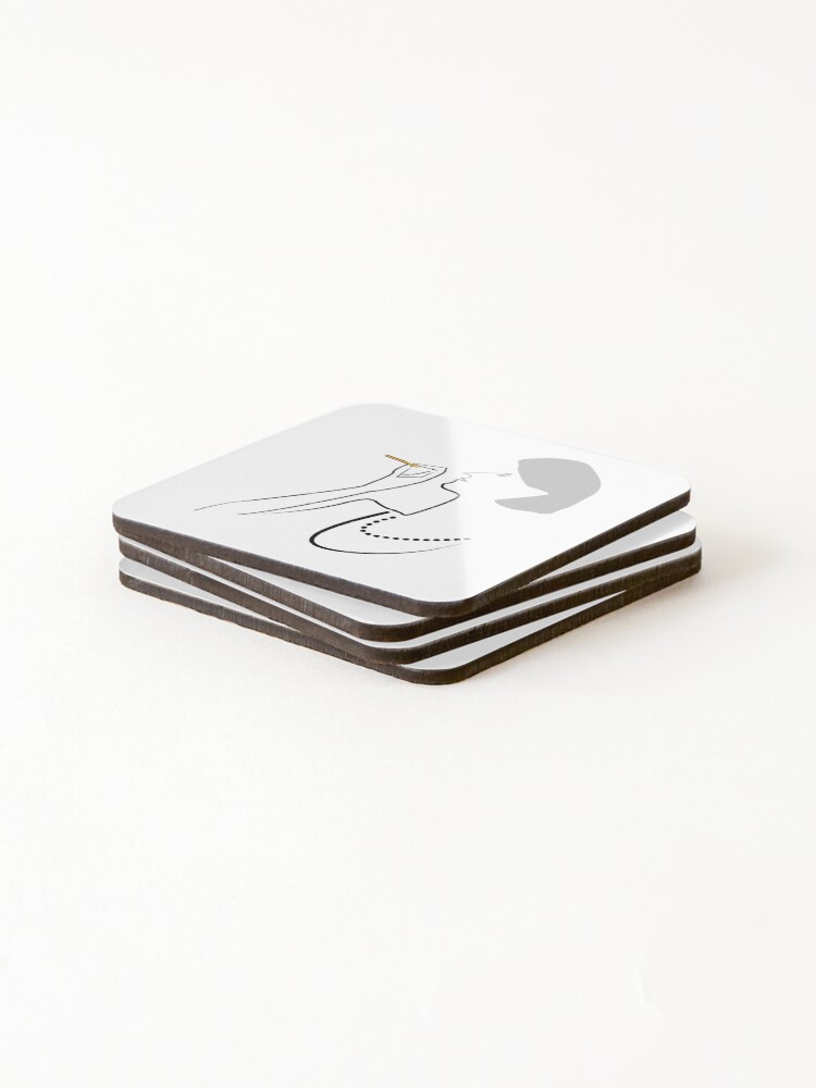 Alternate view of So CLASSY! Coasters (Set of 4)