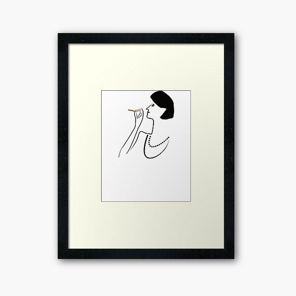 So CLASSY! Framed Art Print