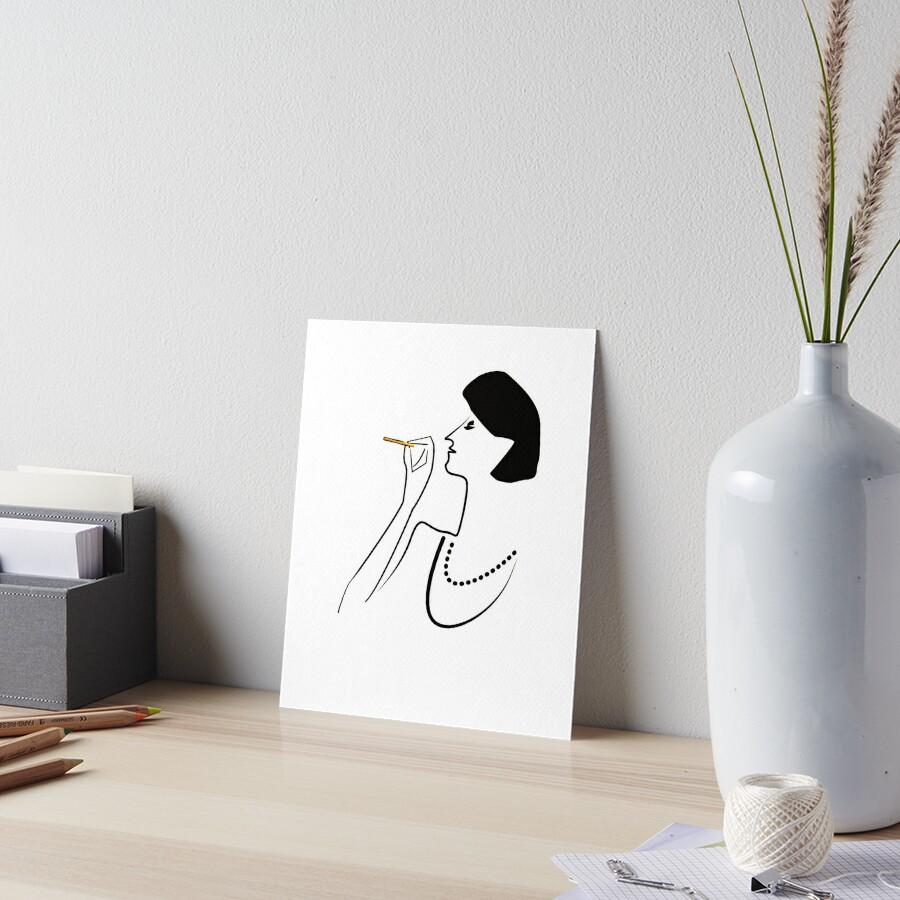 So CLASSY! Art Board Print