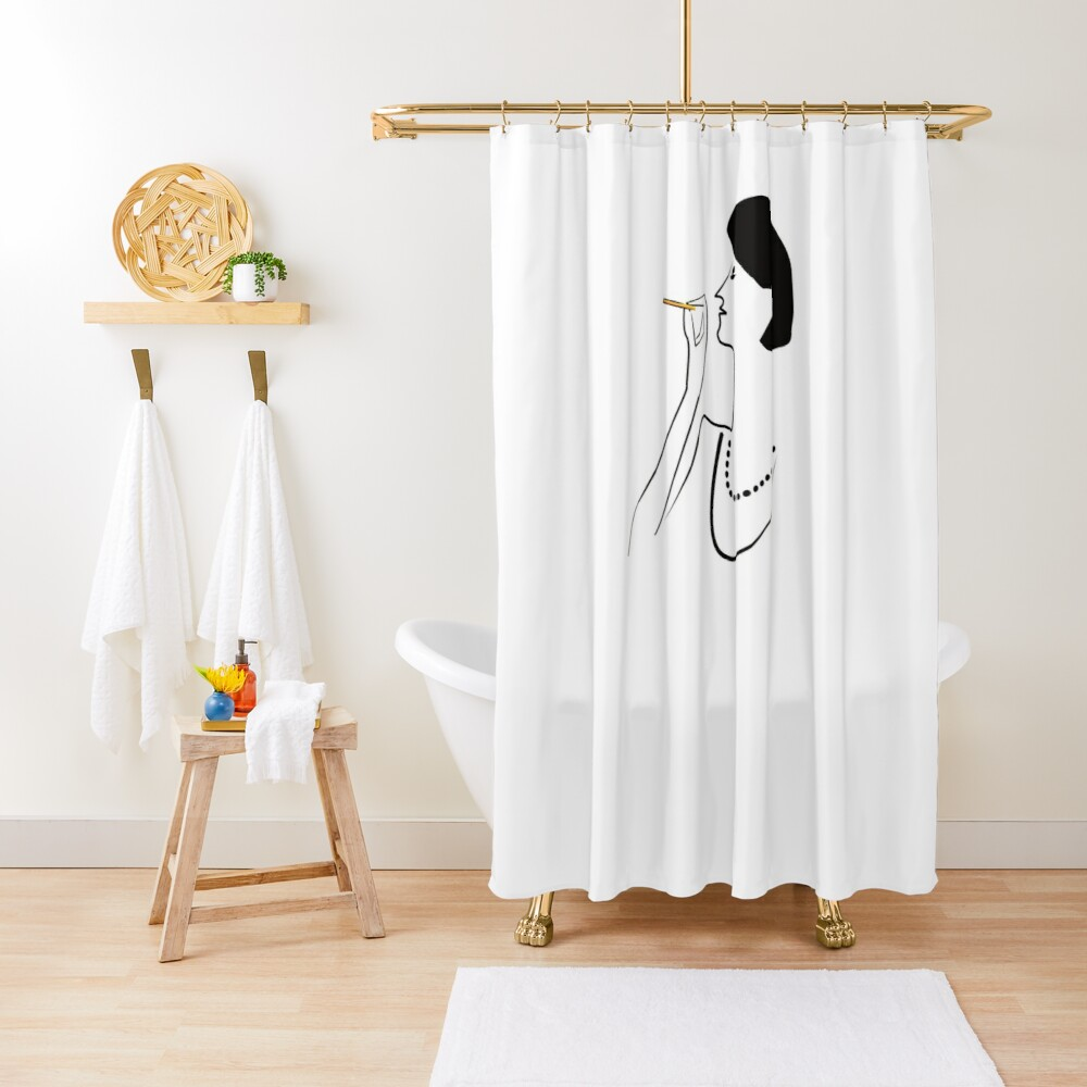 So CLASSY! Shower Curtain