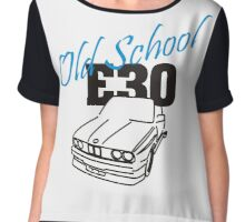 E30 Old School Chiffon Top