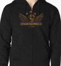 Steam Marines 2 - Logo Zipped Hoodie