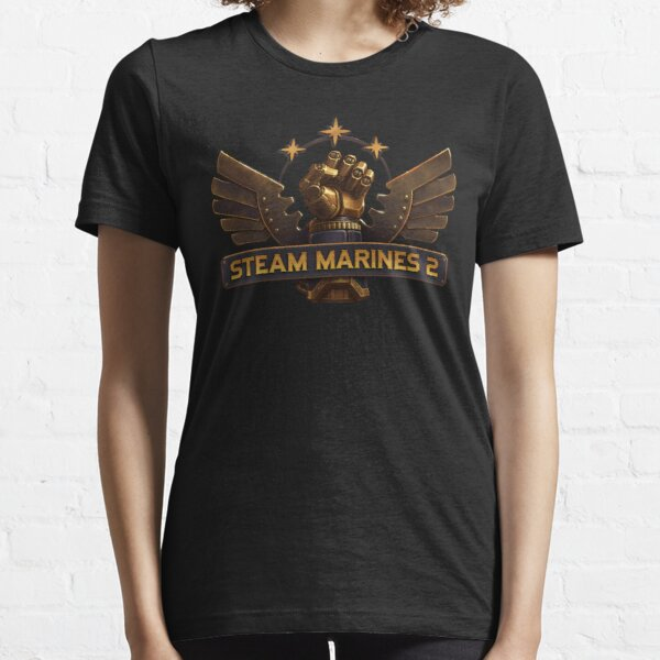 Steam Marines 2 - Logo Essential T-Shirt