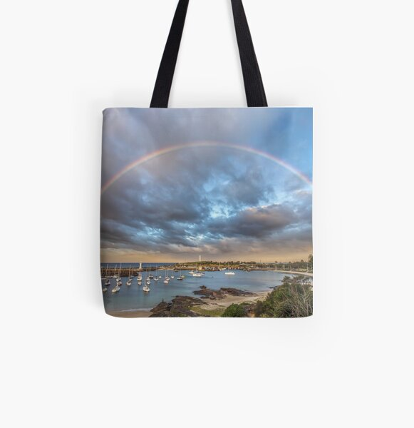 Wollongong Harbour All Over Print Tote Bag