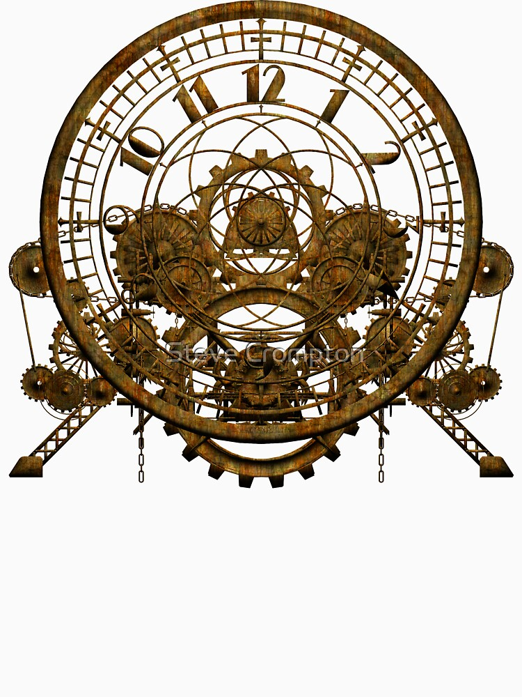 Vintage Steampunk Time Machine #1 by SC001