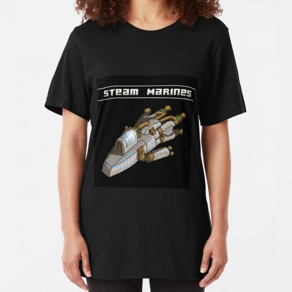 Steam Marines - I.S.S. Orion Slim Fit T-Shirt