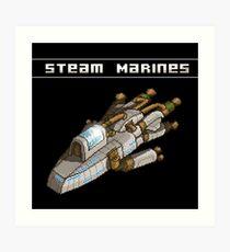 Steam Marines - I.S.S. Orion Art Print