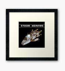 Steam Marines - I.S.S. Orion Framed Print