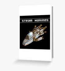 Steam Marines - I.S.S. Orion Greeting Card