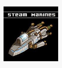 Steam Marines - I.S.S. Orion Photographic Print