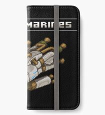 Steam Marines - I.S.S. Orion iPhone Wallet/Case/Skin