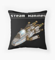 Steam Marines - I.S.S. Orion Throw Pillow